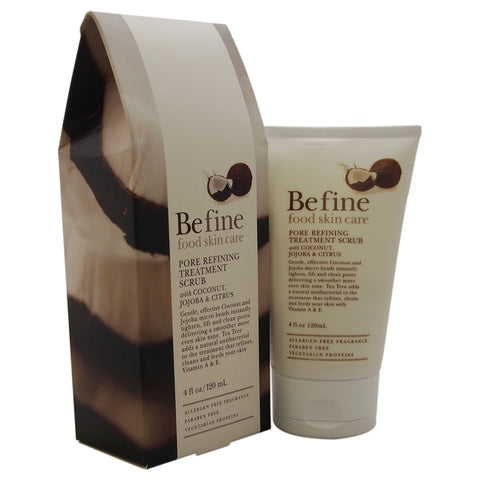 Befine Pore Refining Scrub with Coconut, Jojoba and Citrus, 4 Ounce
