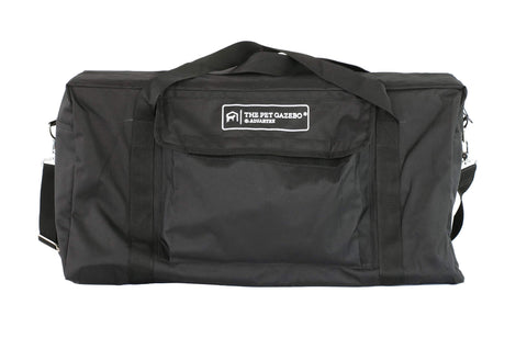 Advantek Pet Gazebo Nylon Tote Black Medium