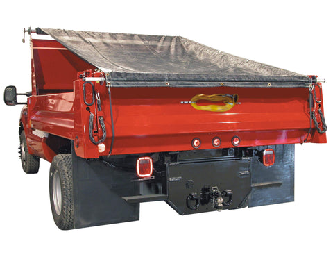 Buyers Products DTR7012 7 ft. x 12 ft. Aluminum System with Mesh Tarp 7 ft. x 12 ft.