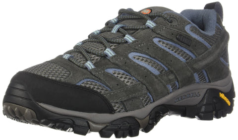 Merrell Women's Moab 2 Waterproof Sneaker Granite 7.5