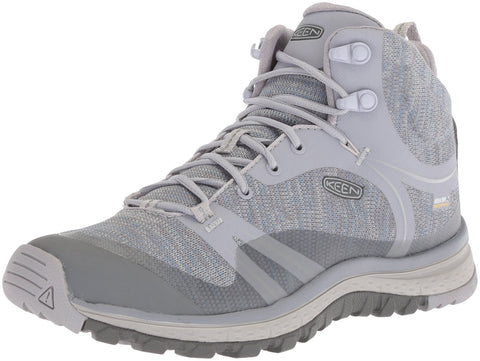 Keen Women's Terradora Mid Wp-w Hiking Boot Dapple Grey/Vapor 5.5 M US