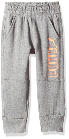 PUMA Big Boys' Jogger Small Charcoal Heather