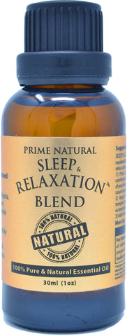 Sleep & Relaxation Essential Oil Blend 30ml / 1oz - 100    Natural Pure Undiluted Therapeutic Grade for Aromatherapy Scents Diffuser - Natural Sleep Aid, Depression Stress Anxiety Relief Boost Mood 30ml (1oz)