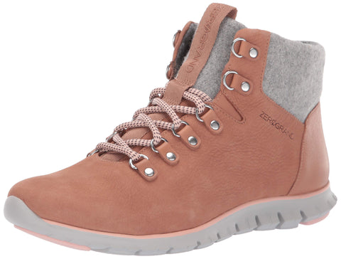Cole Haan Women's Zerogrand Hikr Boot Mocha Mousse Waterproof Nubuck 9 N US