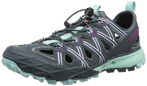 Merrell Choprock Shandal Hiking Shoe - Women's Blue Smoke 7 M US