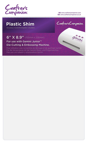 Gemini GEMJR-Acc-PLAS Die Cutting Machine Accessories, White