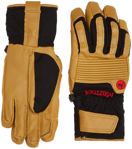 Marmot Exum Guide Undercuff Glove Black/Tan Medium