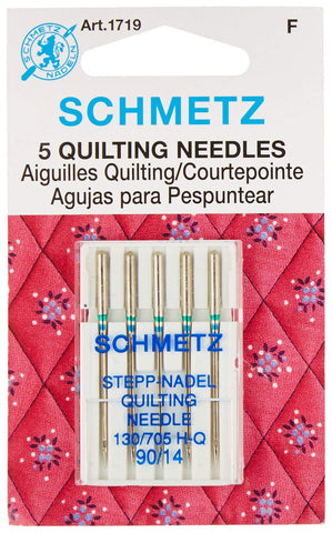 Euro-Notions 71834 Quilt Machine Needles-Size 14/90 5/Pkg Original Version