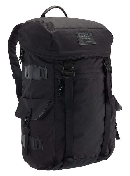 Burton Annex Backpack with Padded Laptop Sleeve and Adjustable Webbing True Black Triple Ripstop