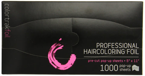 Colortrak Pre-cut Popup Highlighting Foil Sheets, Silver, 1000 sheets 5  x 11  1000 Count
