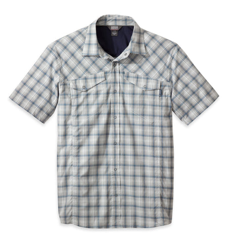 Outdoor Research Men's Pagosa Shirt, Ice, Small