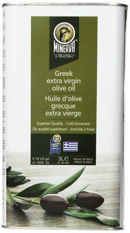 Minerva Greek Extra Virgin Olive Oil, 3L