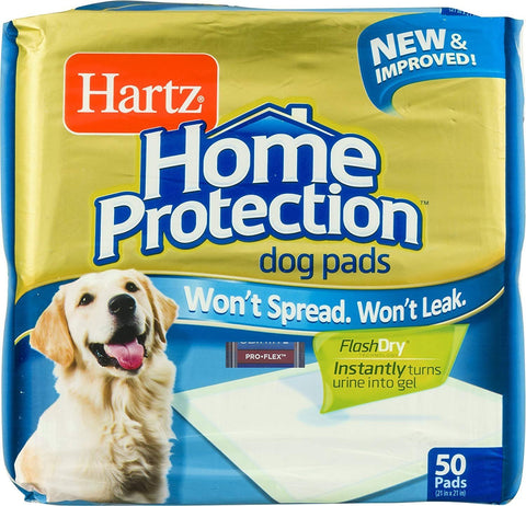 Hartz Dog Training Pads 50-Count Gold