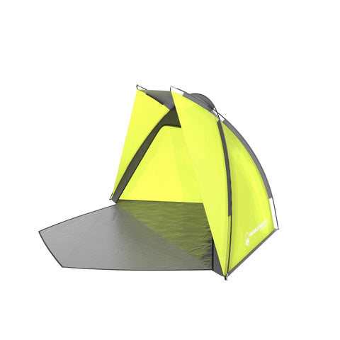 Wakeman Beach Tent Sun Shelter for Shade with UV Protection Water & Wind Resistant Easy Set Up Green