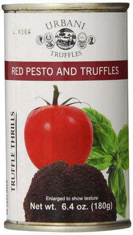 Urbani Truffles Truffle Thrills, Red Pesto and Truffles, 6.4 Ounce Can 1 can, 6.1 oz