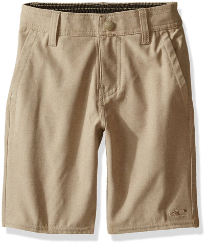 O'NEILL Big Boys Loaded Quick Dry Stretch Hybrid Boardshort 24 Heather Khaki