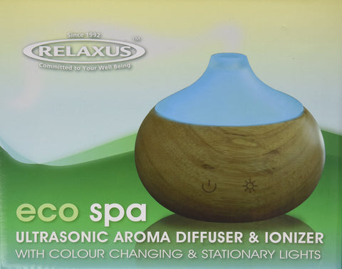RELAXUS Eco Spa Ultrasonic Diffuser, 1 EA