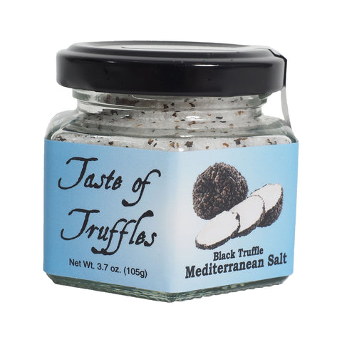 Black Truffle Mediterranean Sea Salt 14    | wt 3.7 oz