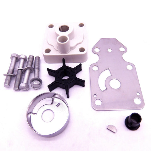 SouthMarine 63V-W0078-00 Water Pump Impeller Repair Kit for Yamaha F15 15hp 4-Stroke Outboard Motors