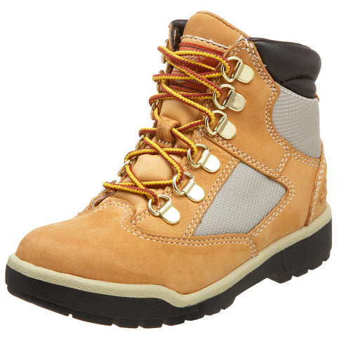 Timberland Toddler/Little Kid Field Boot 6  Hiker Little Kid (4-8 Years) 1 Little Kid Wheat Nubuck