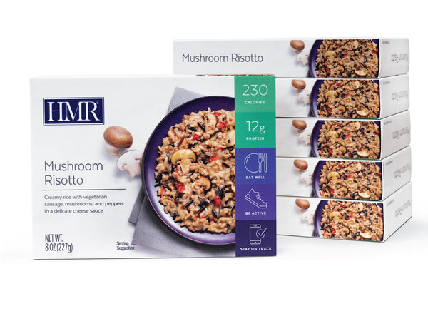 HMR Mushroom Risotto Entree, 8 oz. Servings, 6 Count