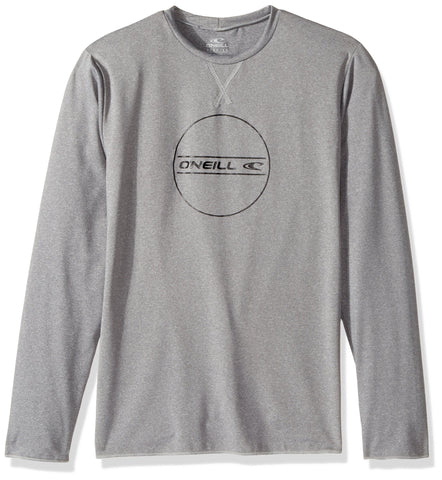 O'Neill Youth Hybrid UPF 50+ Long Sleeve Sun Shirt 4 Cool Grey