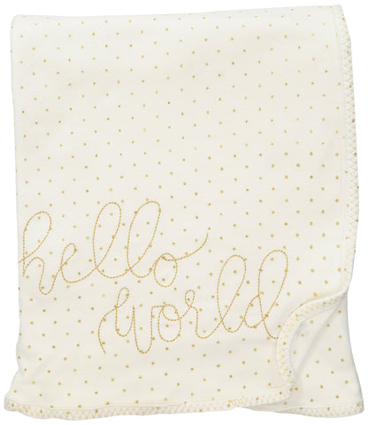 Mud Pie Baby Girls' Nursery Blanket Glitter One Size