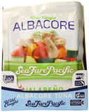 Sea Fare Pacific Wild Caught Albacore Tuna, Jalapeno Pouch, 6 Ounce (Pack of 12)