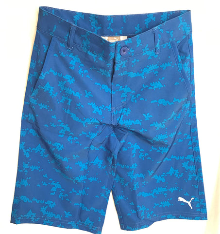 PUMA Big Boys' Aquatic Shorts 12 Royal