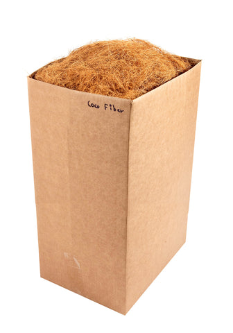 Super Moss (23276) Coco Fiber for Wire Baskets, Dried, 10lbs Natural Brown Appx. 10 lb Bulk Case