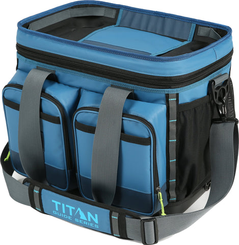 Arctic Zone Titan Guide Series Cooler, Blue 36 Can Cooler