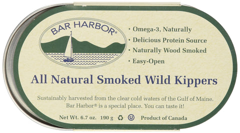 Bar Harbor Wild Smoked Kippers, 6.7 Ounce