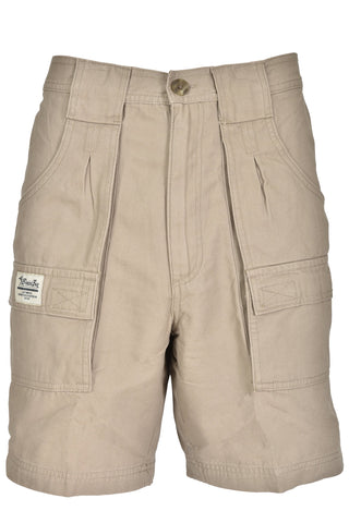 Bimini Bay Outfitters Men's Outback Hiker Cotton Cargo Short 32 Khaki