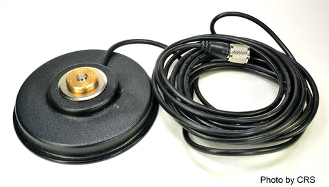Workman PM5-NMO CB Radio Antenna Magnet Mount with PL-259 Plug & 16` Foot Coax