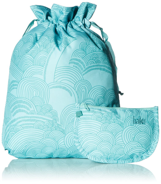Haiku Travel Set Clear TSA Pouch Sea Blue