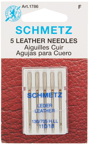 Schmetz Leather Machine Needle Size 18/110 1 Pack