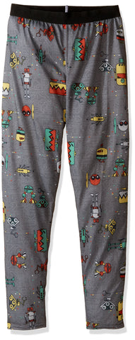 Hot Chillys Youth Pepper Skins Bottom Bots-Charcoal X-Large