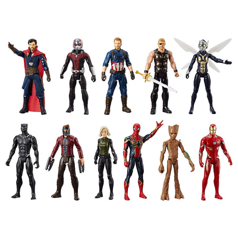 Marvel Universe Collection Titan Hero 12  Figure, 11-pack