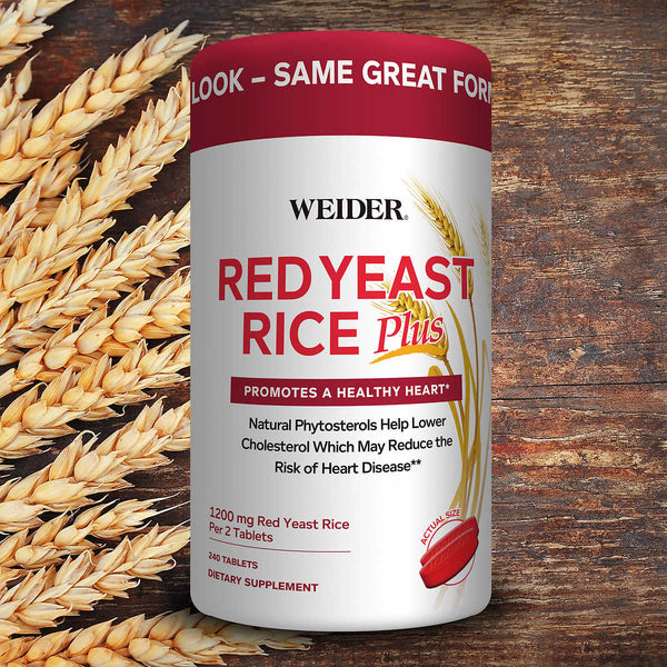 Weider Red Yeast Rice Plus 1200 mg., 240 Tablets