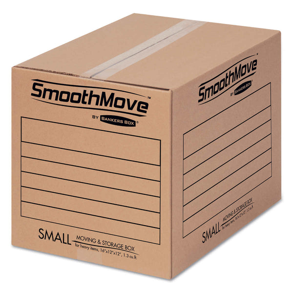 Bankers Box SmoothMove Basic Moving & Storage Boxes, Small, 20-count