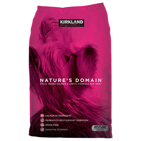 Kirkland Signature Nature's Domain Small Breed Salmon & Lentil