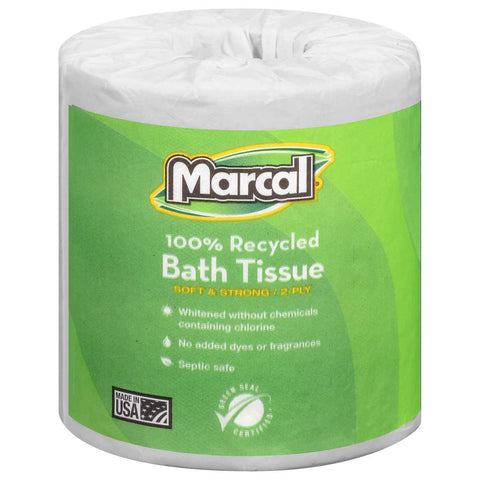 Marcal Bath Tissue 2-ply, 48-count