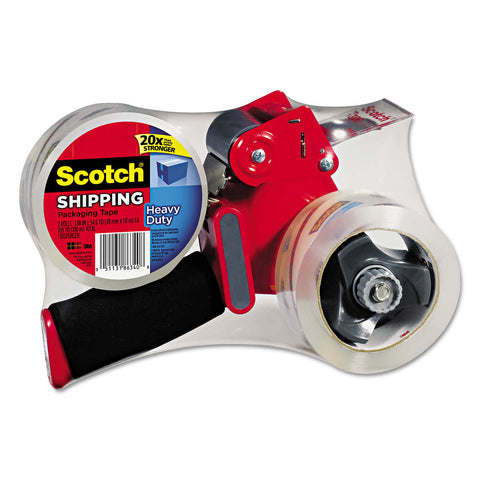 Scotch Packing Tape Dispenser With 2 Rolls