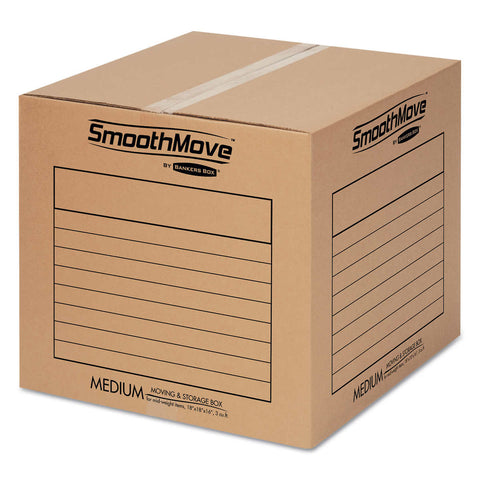 Bankers Box SmoothMove Basic Moving & Storage Boxes Medium 20-count