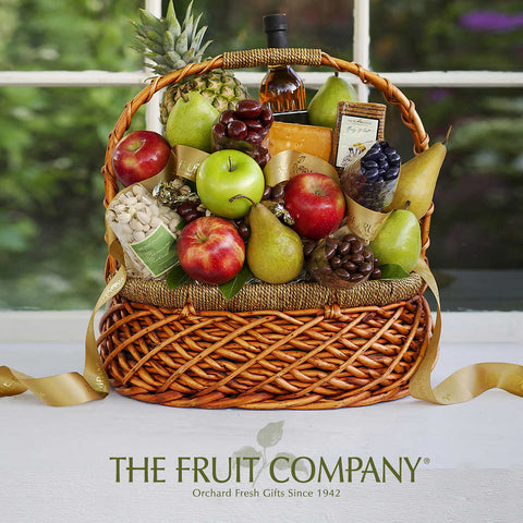 The Fruit Company Bountiful Harvest Gift Basket