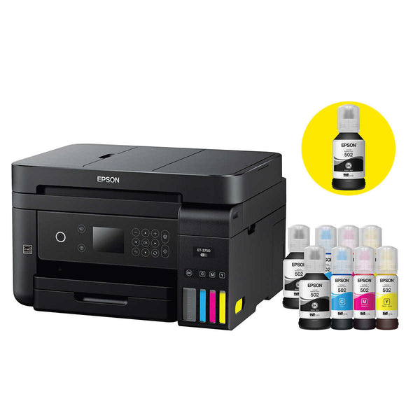 Epson WorkForce EcoTank 3750 Special Edition All-in-One Printer With Bonus Black Ink
