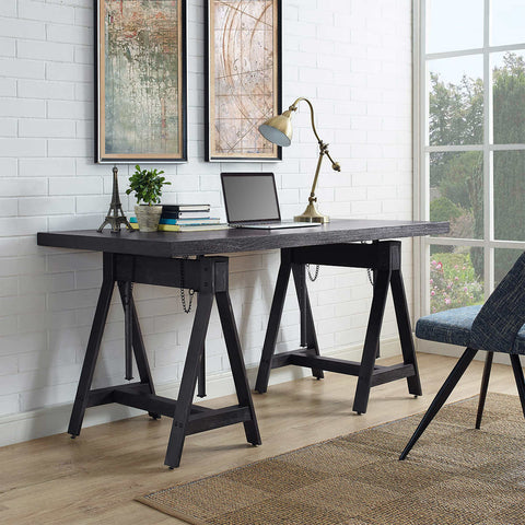 Finnick Height Adjustable Saw Horse Desk