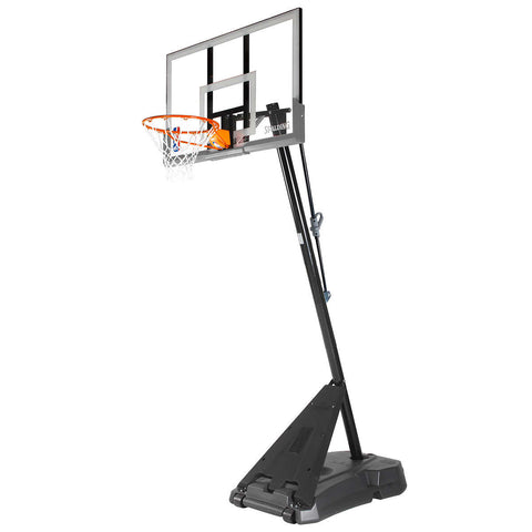 "Spalding 54"" Hercules Acrylic Portable Basketball System"