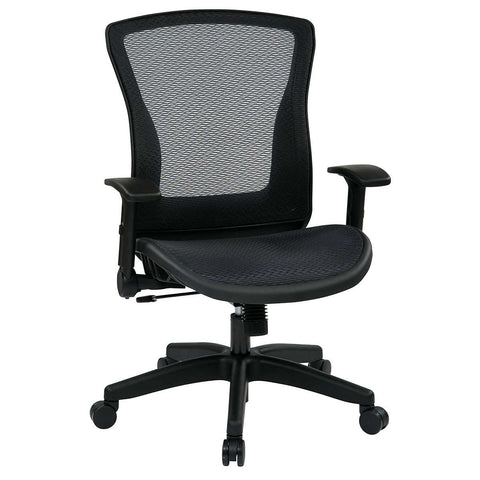 Axia Space Office Chair with Breathable AirGrid Back & Seat