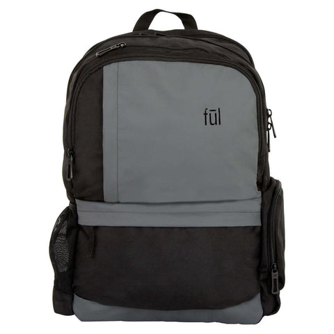 Fūl Westly Laptop Backpack-Heather Grey